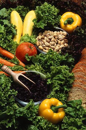 300px Vegetarian diet2 The Blood Type AB Diet